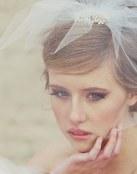 Velos de novia con joyas