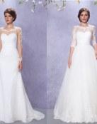 Nuevas ideas en forma de vestidos por Gino Cerruti