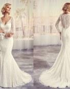 Vestidos rectos y con claras pinceladas románticas