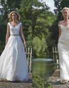 5 vestidos de novia sencillos y discretos