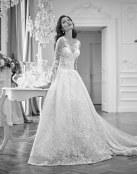 6 Vestidos de novia con escotes fantasía
