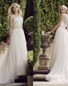 Novias primaverales gracias a Casablanca Bridal