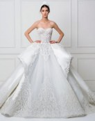 La elegancia se combina con la originalidad en esos trajes de novia
