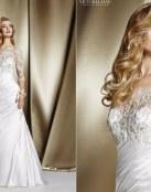 Vestidos de novia satinados por Victoria Jane
