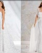 Un estilo vintage moderno para las novias actuales