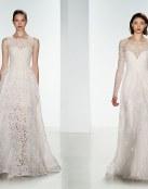 Vestidos otoñales para las novias 2016