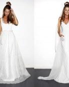 Vestidos para novias muy juveniles y originales