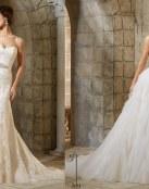 Vestidos para novia Blu de Angelina Faccenda