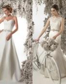 Los románticos vestidos de Christine Dando