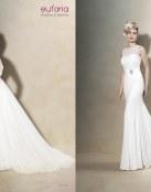 Vestidos para novia Euforia, una manera de describirlos