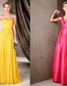 Vestidos de fiesta a todo color Pronovias 2017