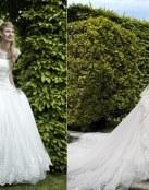 Bordados y pedrería para los vestidos elegantes de Valentini Spose
