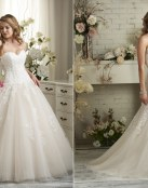 Una colección de novia romántica de la mano de Bonny Bridal