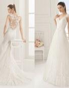 ¡No te pierdas estos vestidos de novia Rosa Clará!