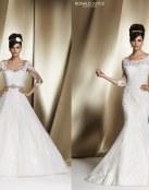 De nuevo, los vestidos para novia son de Ronald Joyce