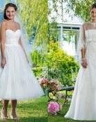Vestidos para novias románticas Sweetheart