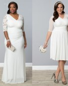 Nuevos vestidos para novia de Kiyonna Plus Size