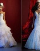 Vestidos de corte sirena por Allure Couture