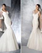 Vestidos sirena para las novias que marcan silueta