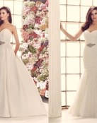 Delicados y románticos vestidos de Mikaella Bridal