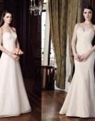 Vestidos elegantes y sutiles de Mikaella Bridal