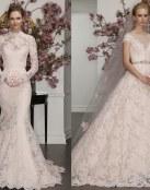 Déjate llevar por el buen gusto de estos trajes de novia 2017