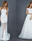 Vestido de novia compuestos por tul