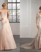 Vestidos de novia corte sirena, modernos y elegantes