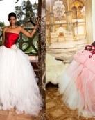 ¿Apostarías por un vestido de novia en color rojo?