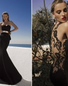 Para las invitadas más sensuales, un vestido negro
