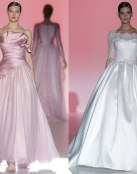 Hannibal Laguna y sus vestidos más innovadores