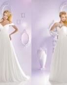 Vestidos delicados con tejidos sencillos