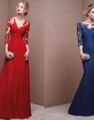 Vestidos largos para las invitadas de boda 2016