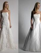 Para las novias que quieren unos trajes un tanto diferentes