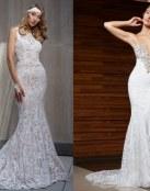 Increíbles trajes de novia con base de alta costura