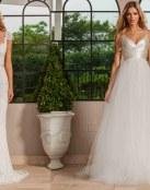 Sencillez y lujo en los vestidos Lisa Gowing