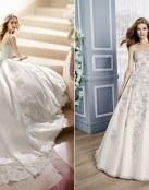 Nuevos vestidos muy elegantes de alta costura