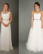 Vestidos sencillos de Emma Bridals