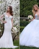 Más novedades en los románticos vestidos de Marisa Bridals