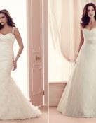 Cuatro vestidos Paloma Blanca