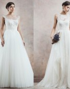 Una colección de novia muy poética