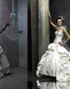 La elegancia de las novias con pinceladas de época