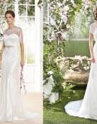¿Te gustan los vestidos rectos de Fara Sposa?