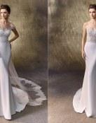 Los vestidos rectos de Enzoani