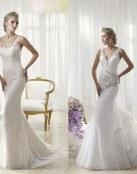 Los mejores vestidos rectos de Divina Sposa