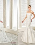 Trajes de corte sirena para las novias con más estilo