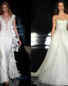 La ligereza de los vestidos de Reem Acra 2017