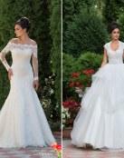Romanticismo y buen gusto en estos vestidos para novia