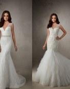 Vestidos sirena para novias de Alta Costura