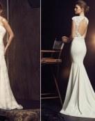 El corte sirena viste a las novias más modernas y elegantes